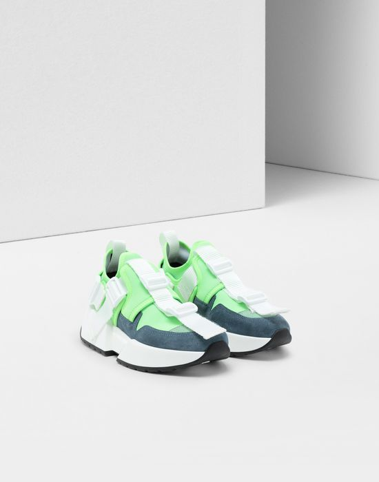 MM6 MAISON MARGIELA Safety Strap platform runners Sneakers [*** pickupInStoreShipping_info ***] r