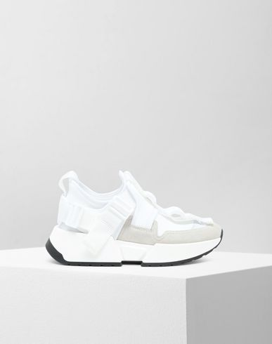 MM6 MAISON MARGIELA Safety Strap platform runners Sneakers Woman f