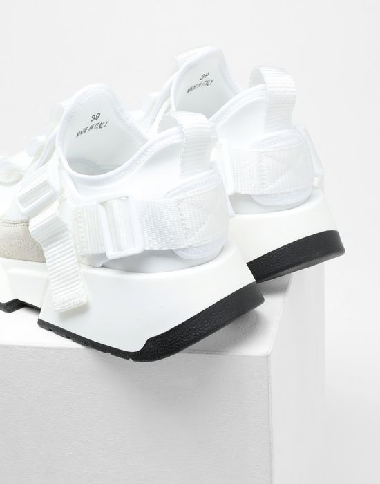 MM6 MAISON MARGIELA Safety Strap platform runners Sneakers [*** pickupInStoreShipping_info ***] a