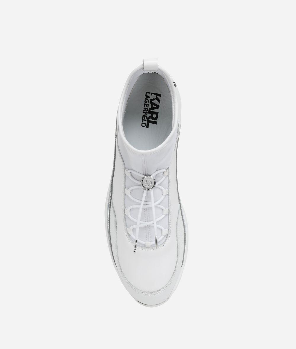 KARL LAGERFELD Vektor Pull-On Runner Sneakers Man d