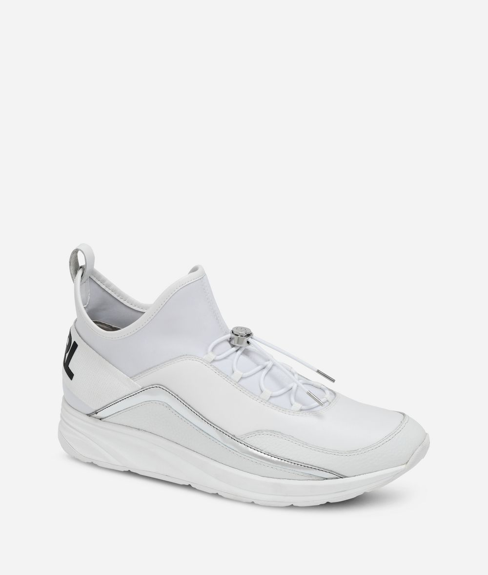 KARL LAGERFELD Vektor Pull-On Runner Sneakers Man f