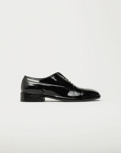 MAISON MARGIELA Laced shoes [*** pickupInStoreShippingNotGuaranteed_info ***] Plastic Casting Treatment lace-up shoes f