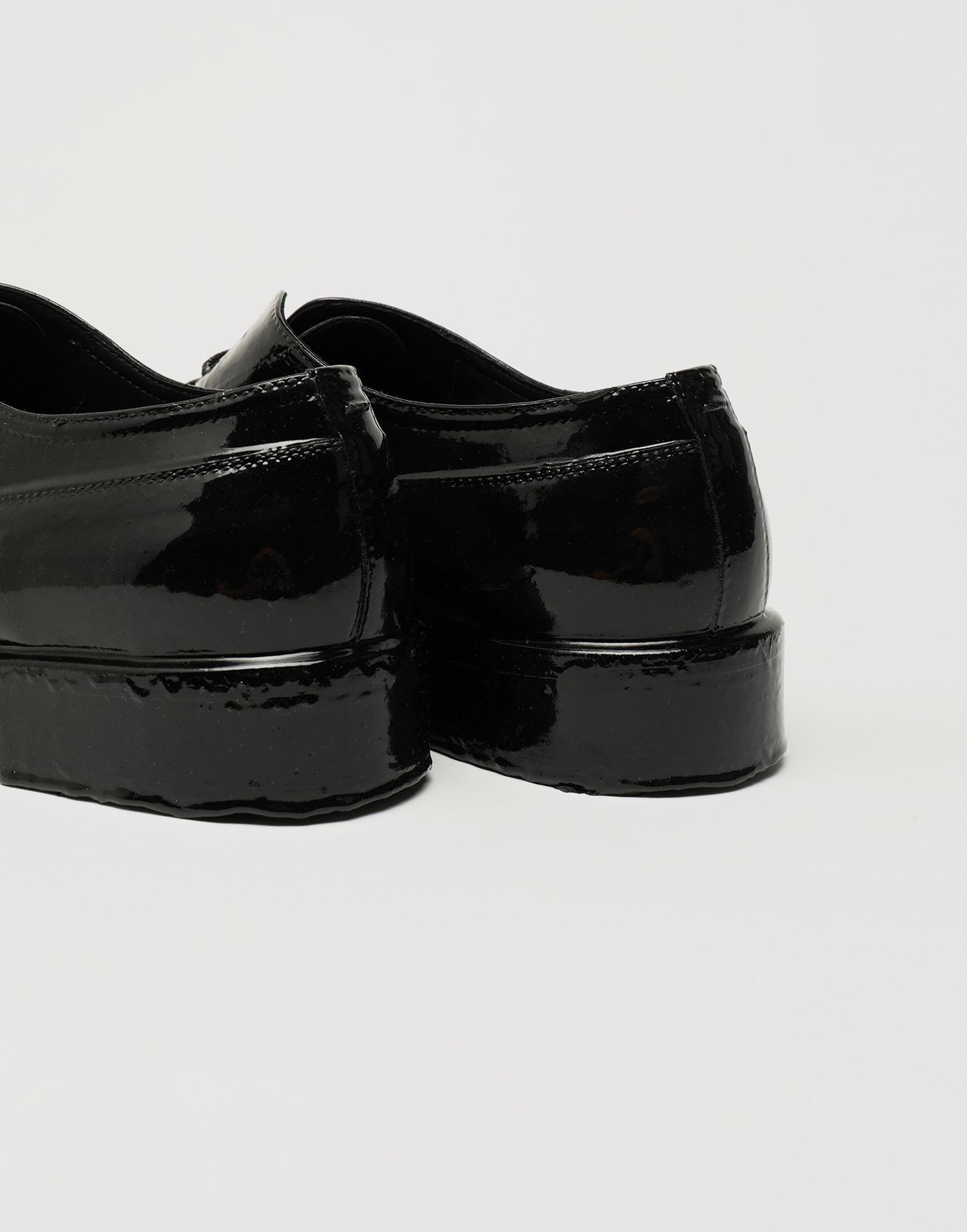 MAISON MARGIELA Plastic Casting Treatment lace-up shoes Laced shoes Man a