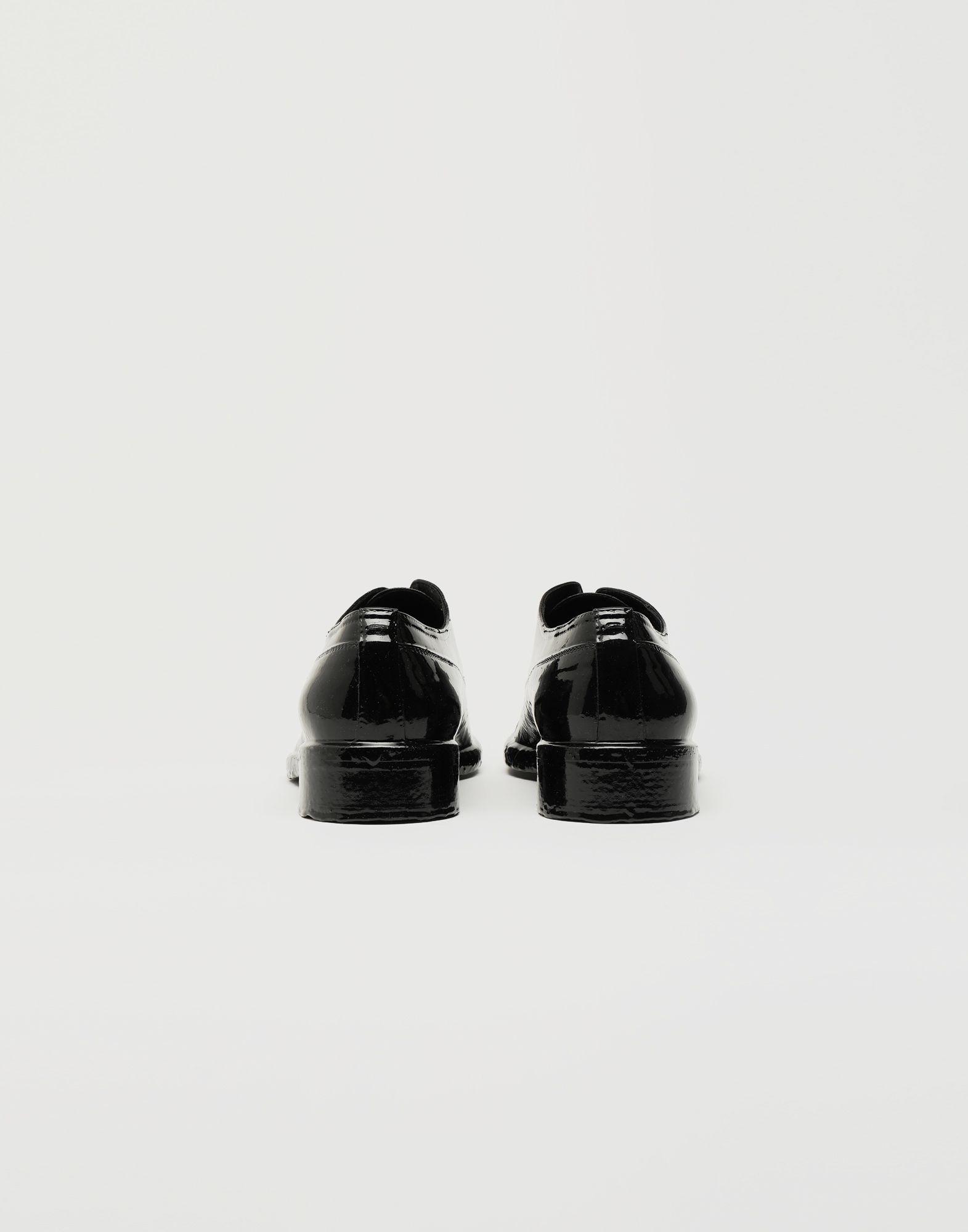 MAISON MARGIELA Plastic Casting Treatment lace-up shoes Laced shoes Man d