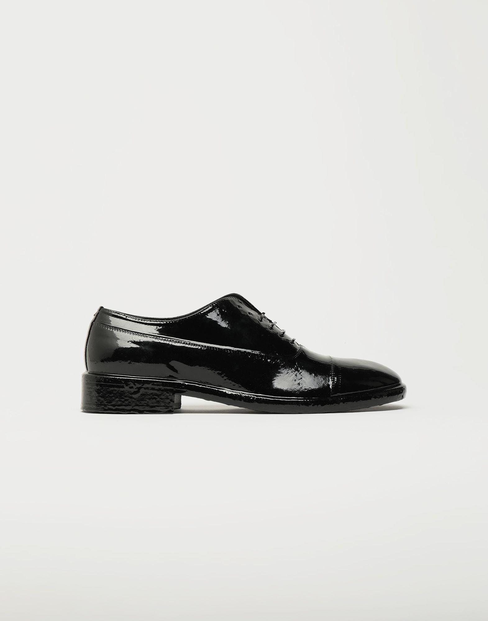MAISON MARGIELA Plastic Casting Treatment lace-up shoes Laced shoes Man f