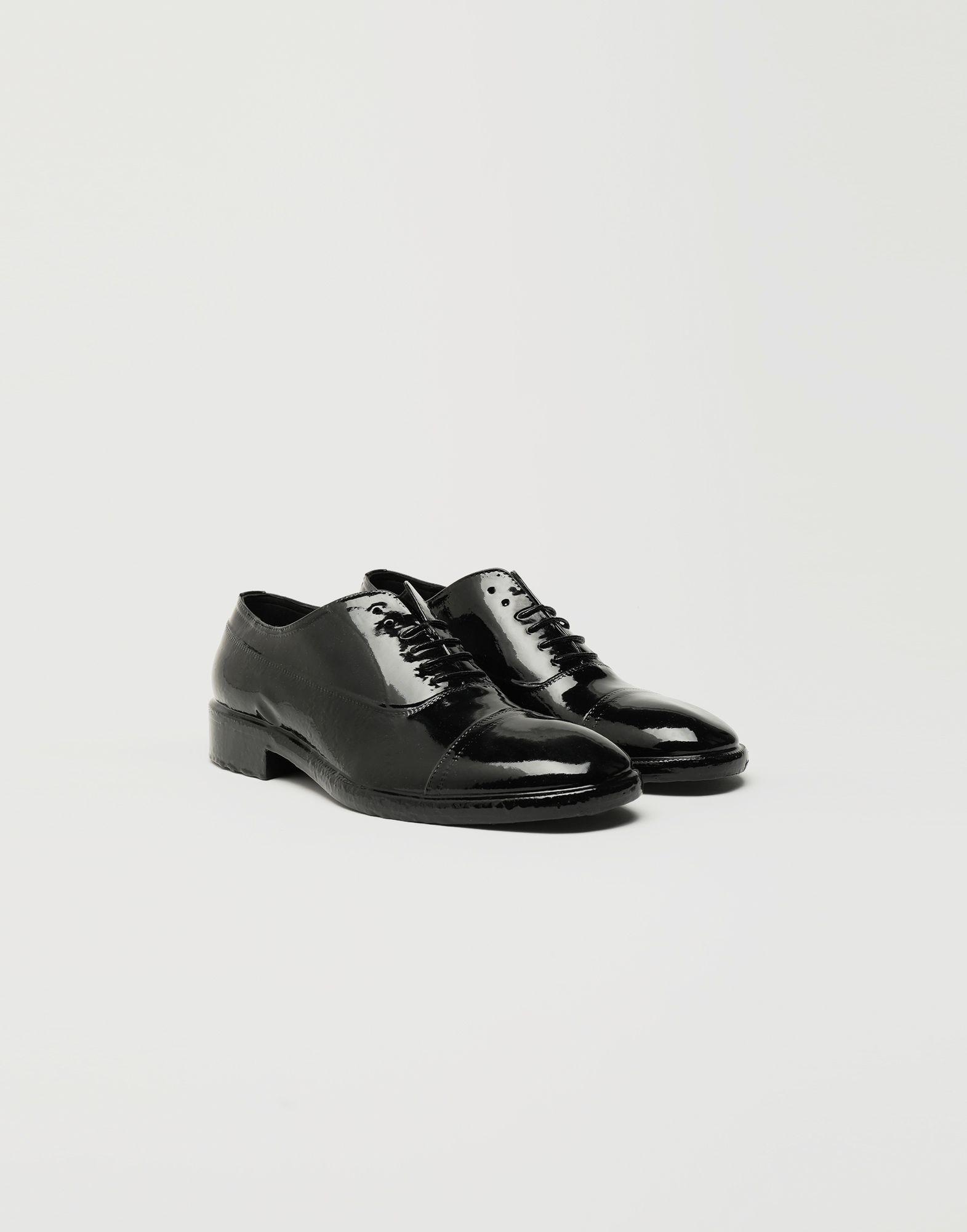 MAISON MARGIELA Plastic Casting Treatment lace-up shoes Laced shoes Man r