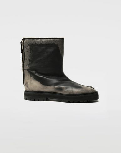 MAISON MARGIELA Tabi leather hunter boots Tabi boots [*** pickupInStoreShipping_info ***] f