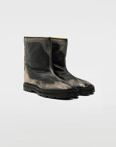 SHOES Tabi leather hunter boots