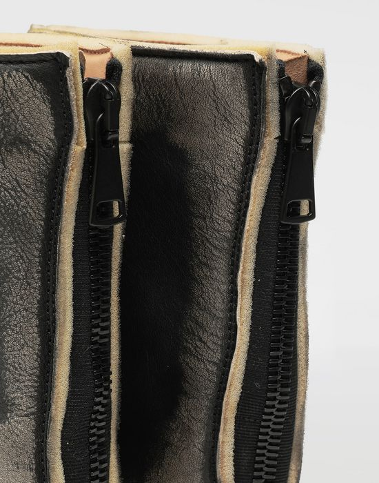 MAISON MARGIELA Tabi leather hunter boots Tabi boots [*** pickupInStoreShipping_info ***] a