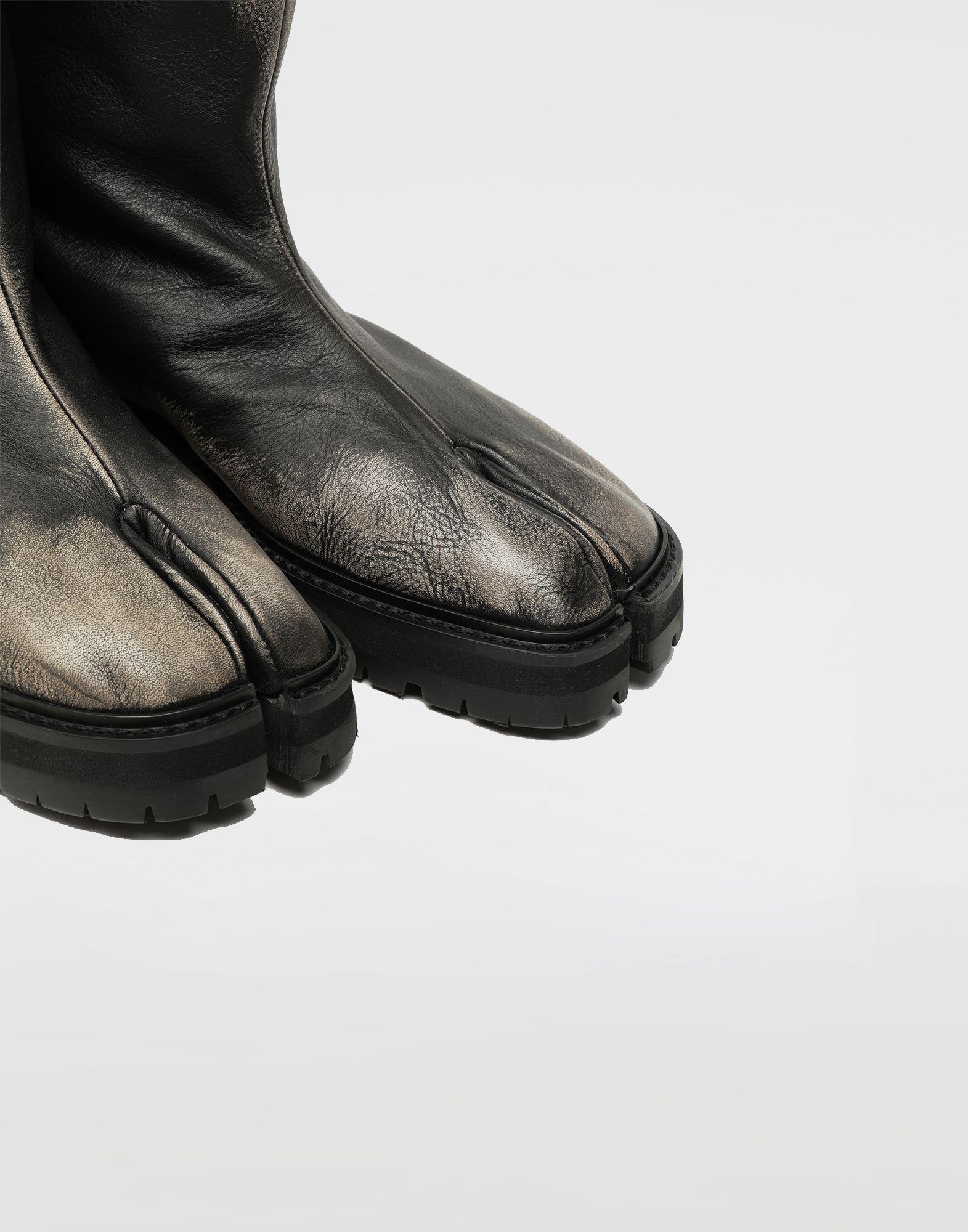 MAISON MARGIELA Tabi leather hunter boots Tabi boots Woman e