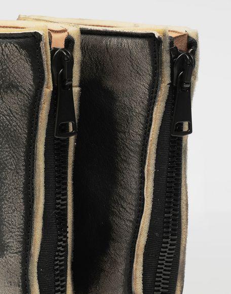 MAISON MARGIELA Tabi leather hunter boots Tabi boots Woman a