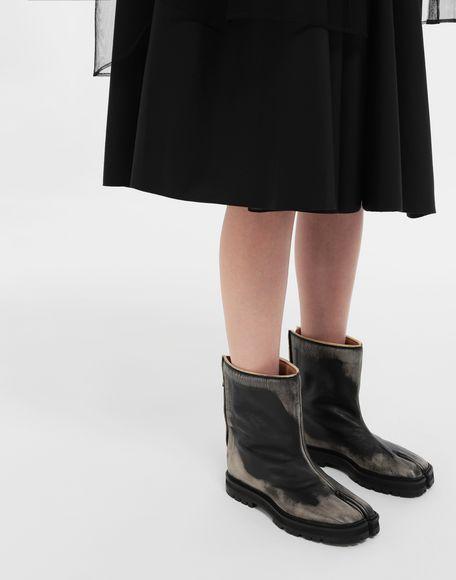 MAISON MARGIELA Tabi leather hunter boots Tabi boots Woman b