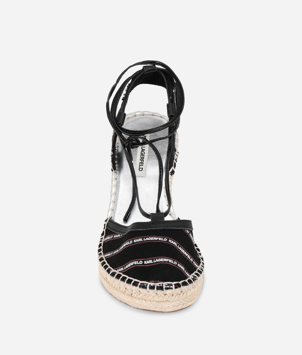 KARL LAGERFELD Espadrille Wedge Sandal Wedge Woman d