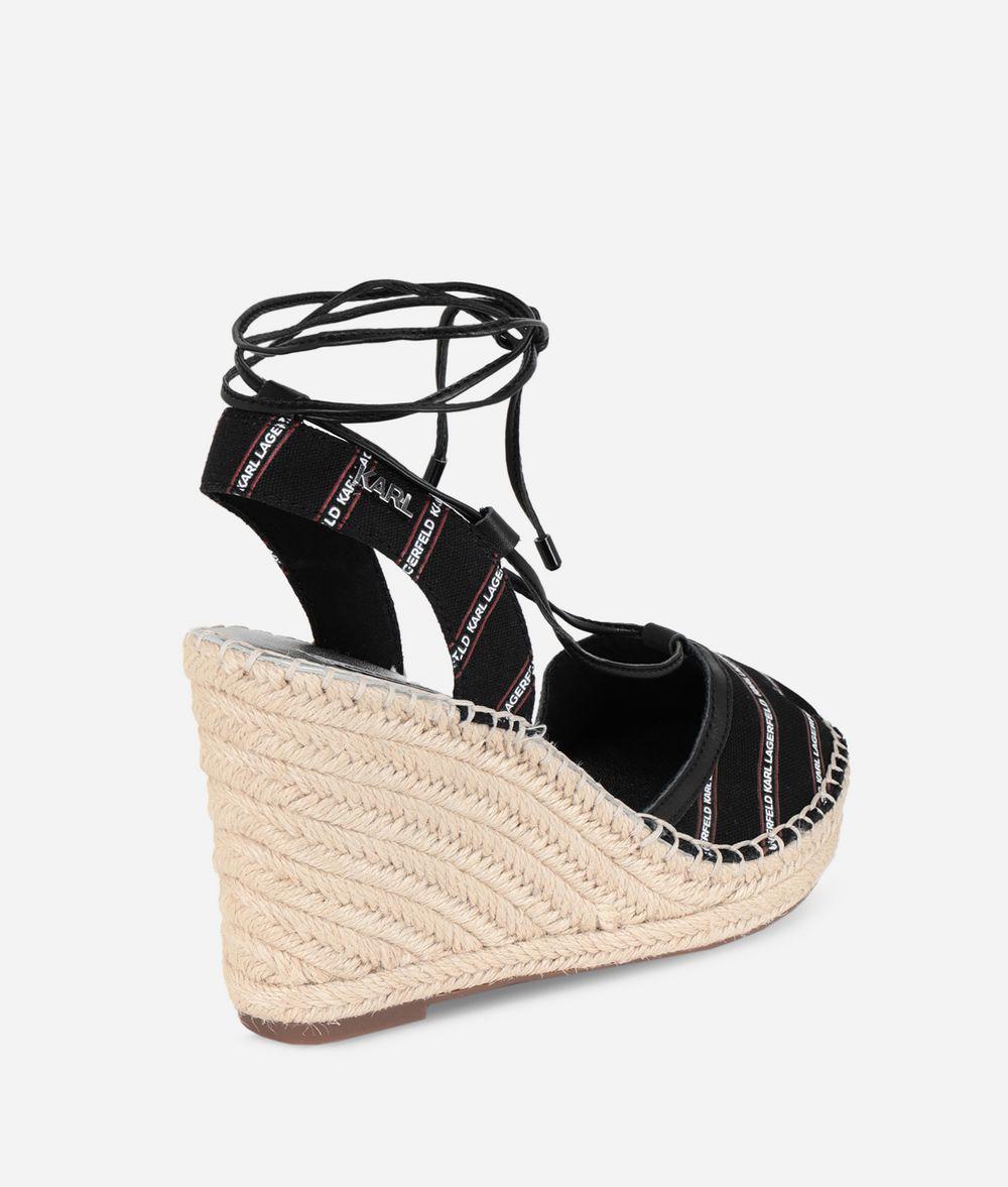new style 0ff26 17433 Sandali Espadrillas Con Zeppa | Collezioni Karl Lagerfeld ...
