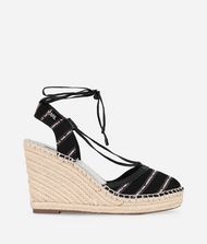 KARL LAGERFELD Espadrille Wedge Sandal Wedge Woman r