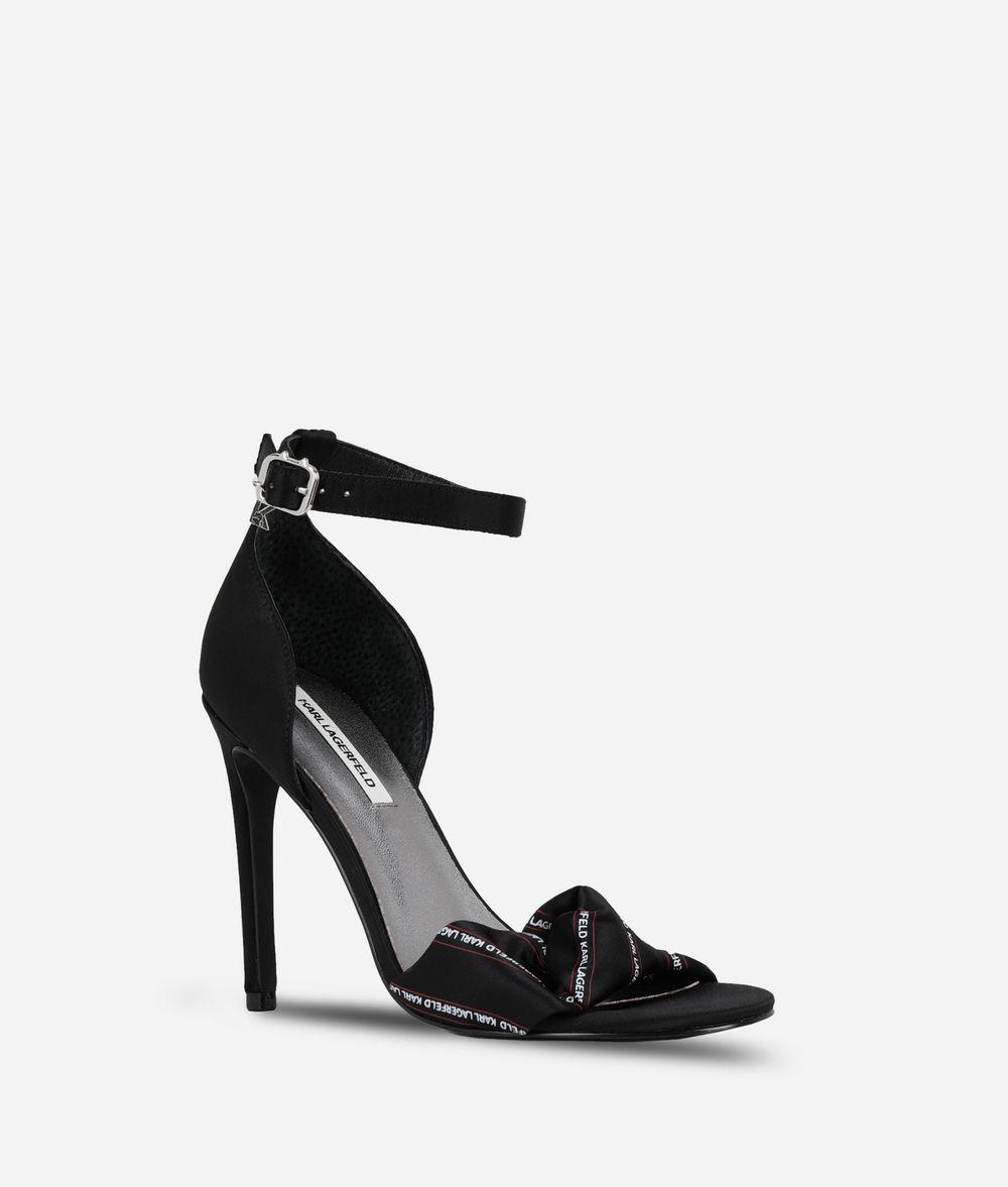 KARL LAGERFELD Ankle Strap Sandal Sandal Woman f