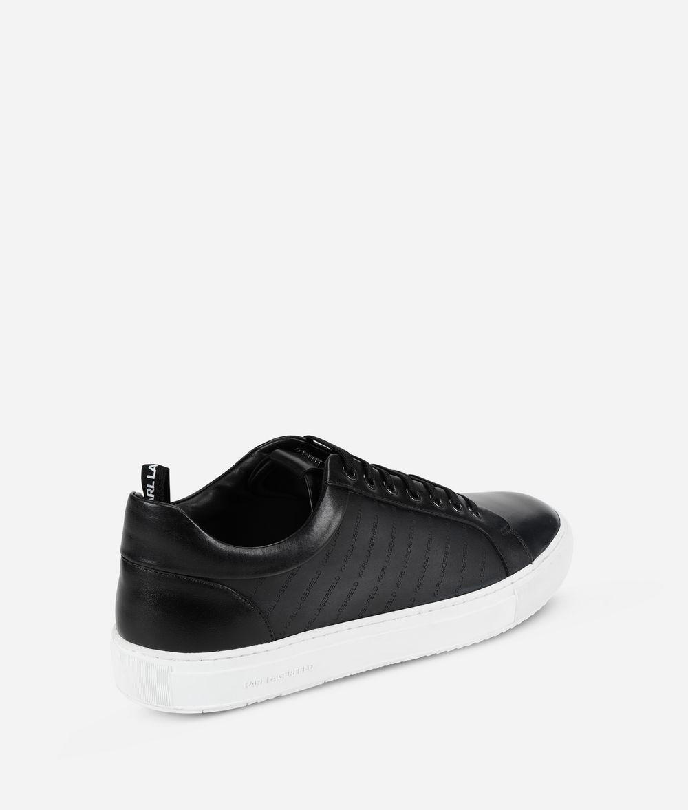 KARL LAGERFELD Kupsole Stripe Logo Sneaker Sneakers Man d