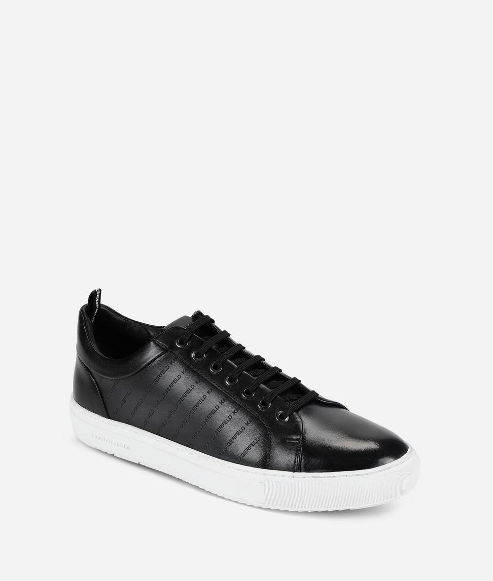 KARL LAGERFELD Kupsole Stripe Logo Sneaker Sneakers Man f