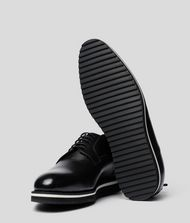 KARL LAGERFELD Lace-Up Leather Dress Shoe 9_f