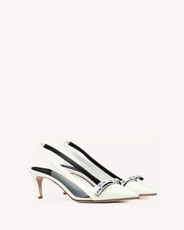 REDValentino SANDIE ENCRYPTED LOVE NOTES COURT SHOE