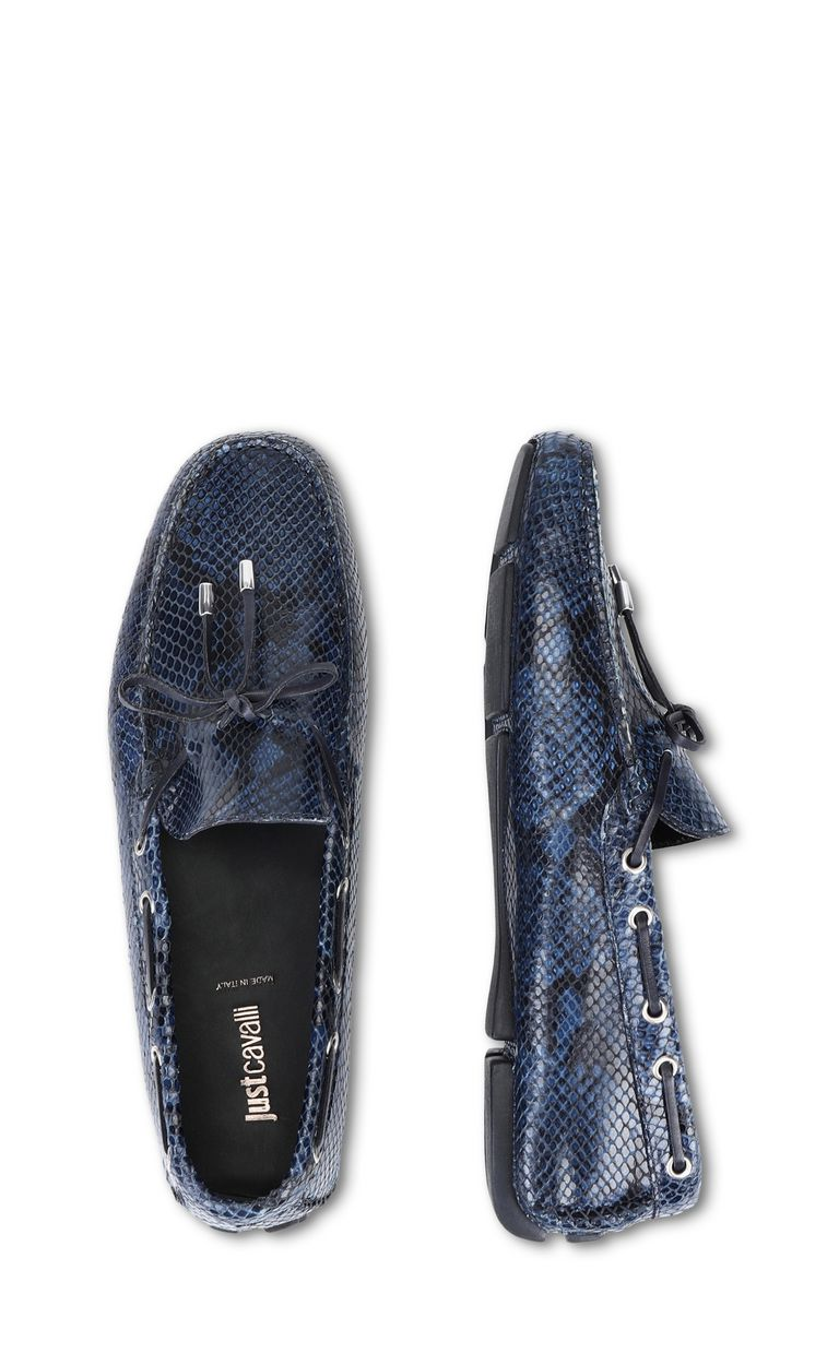 JUST CAVALLI Python loafer Moccassins Man d
