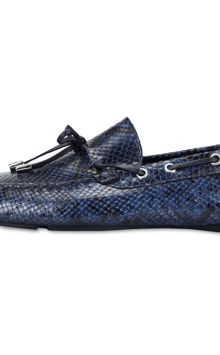 JUST CAVALLI Python loafer Moccassins Man e