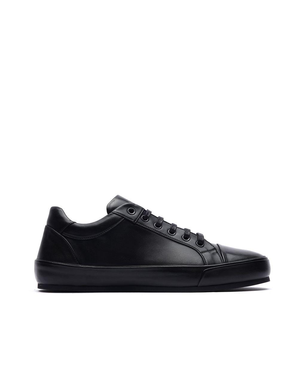 BRIONI Black Sneaker Sneakers Man f