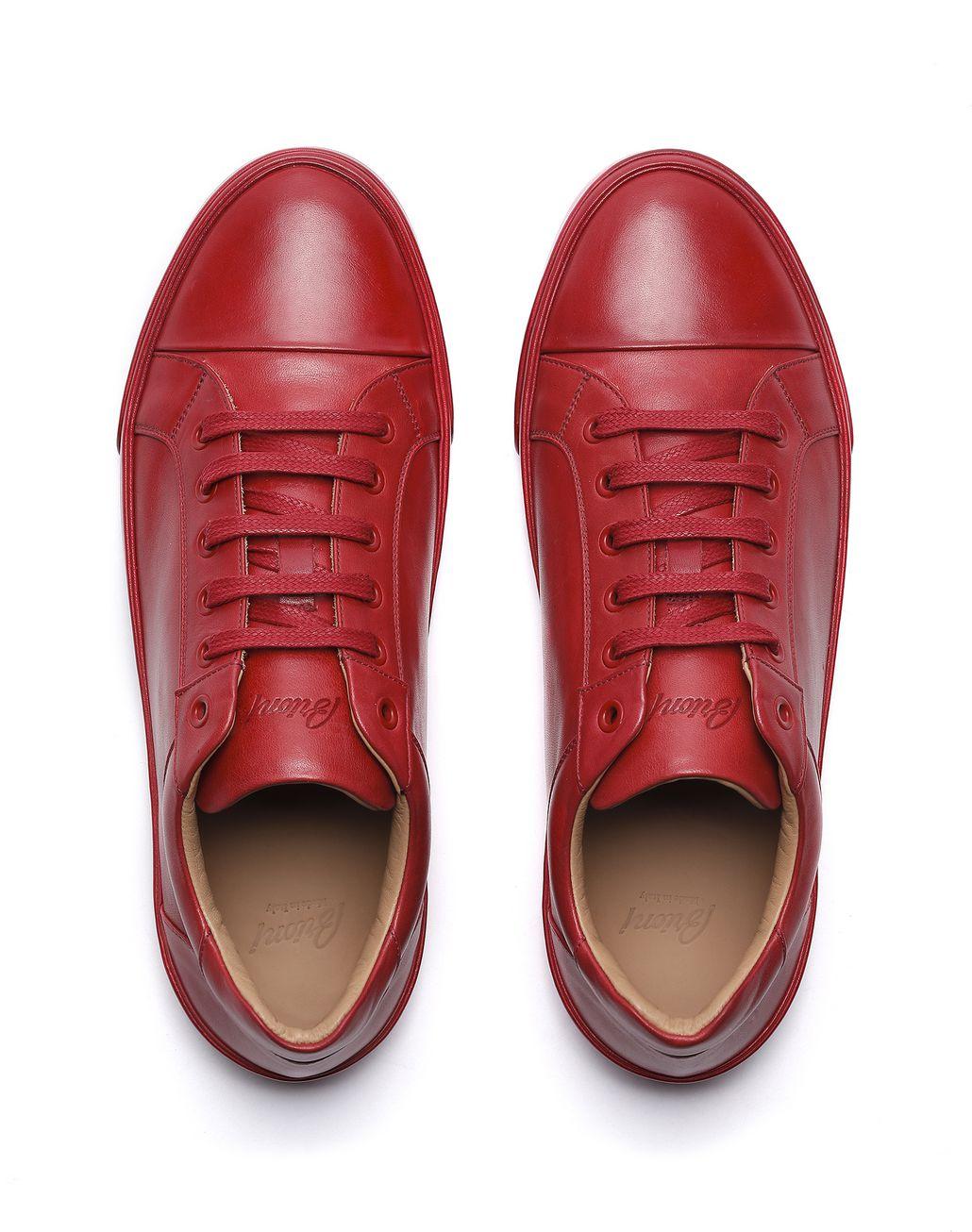 BRIONI Red Sneaker Sneakers [*** pickupInStoreShippingNotGuaranteed_info ***] r
