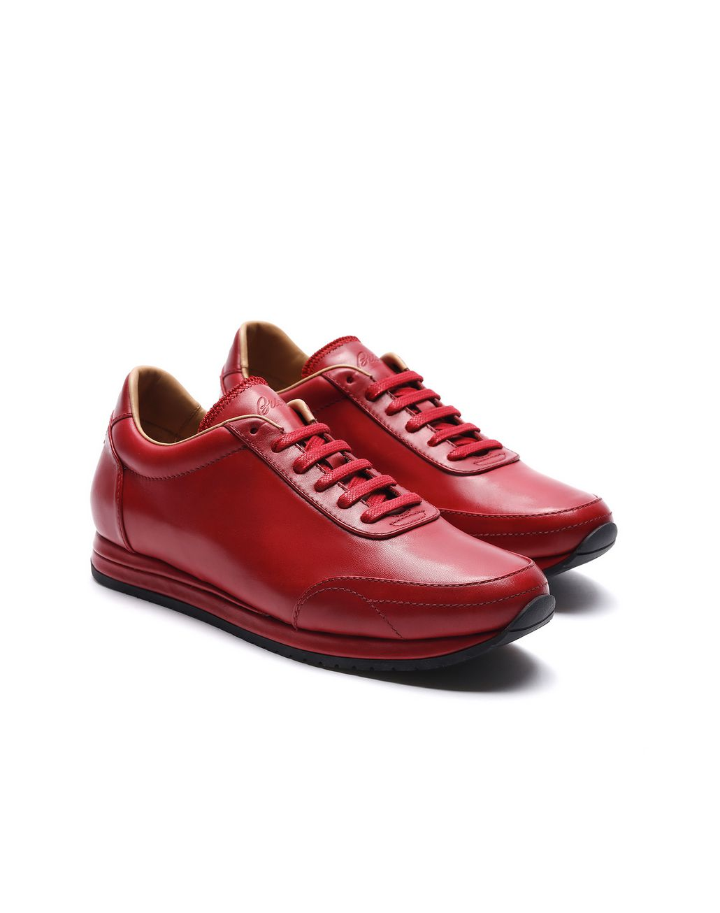 BRIONI Red Runner Sneakers Sneakers [*** pickupInStoreShippingNotGuaranteed_info ***] d