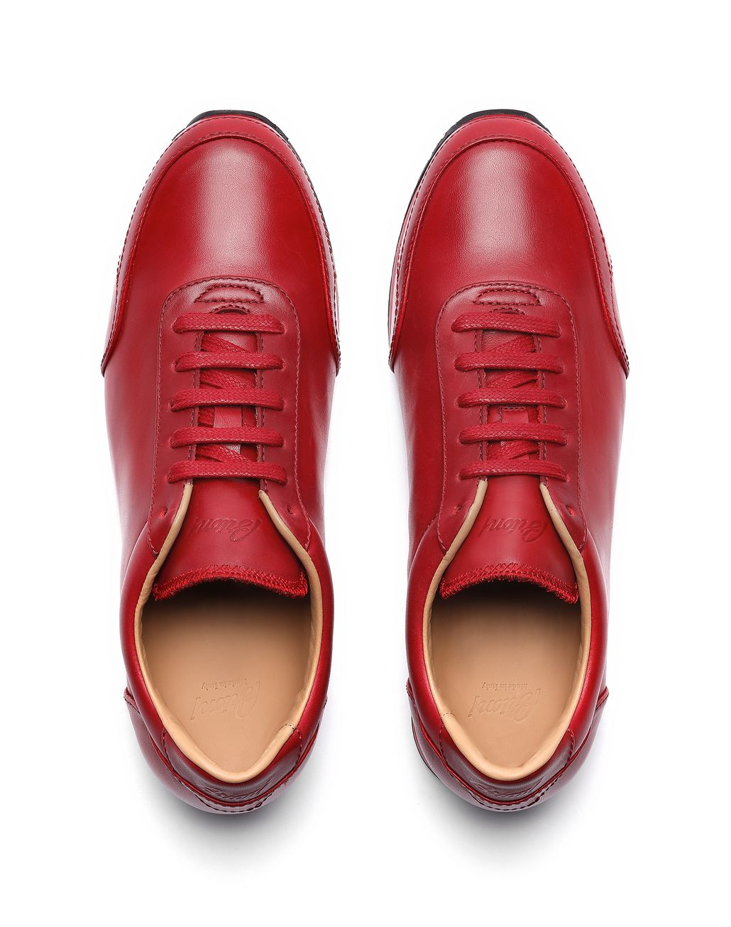 BRIONI Baskets de course rouges Sneaker [*** pickupInStoreShippingNotGuaranteed_info ***] r