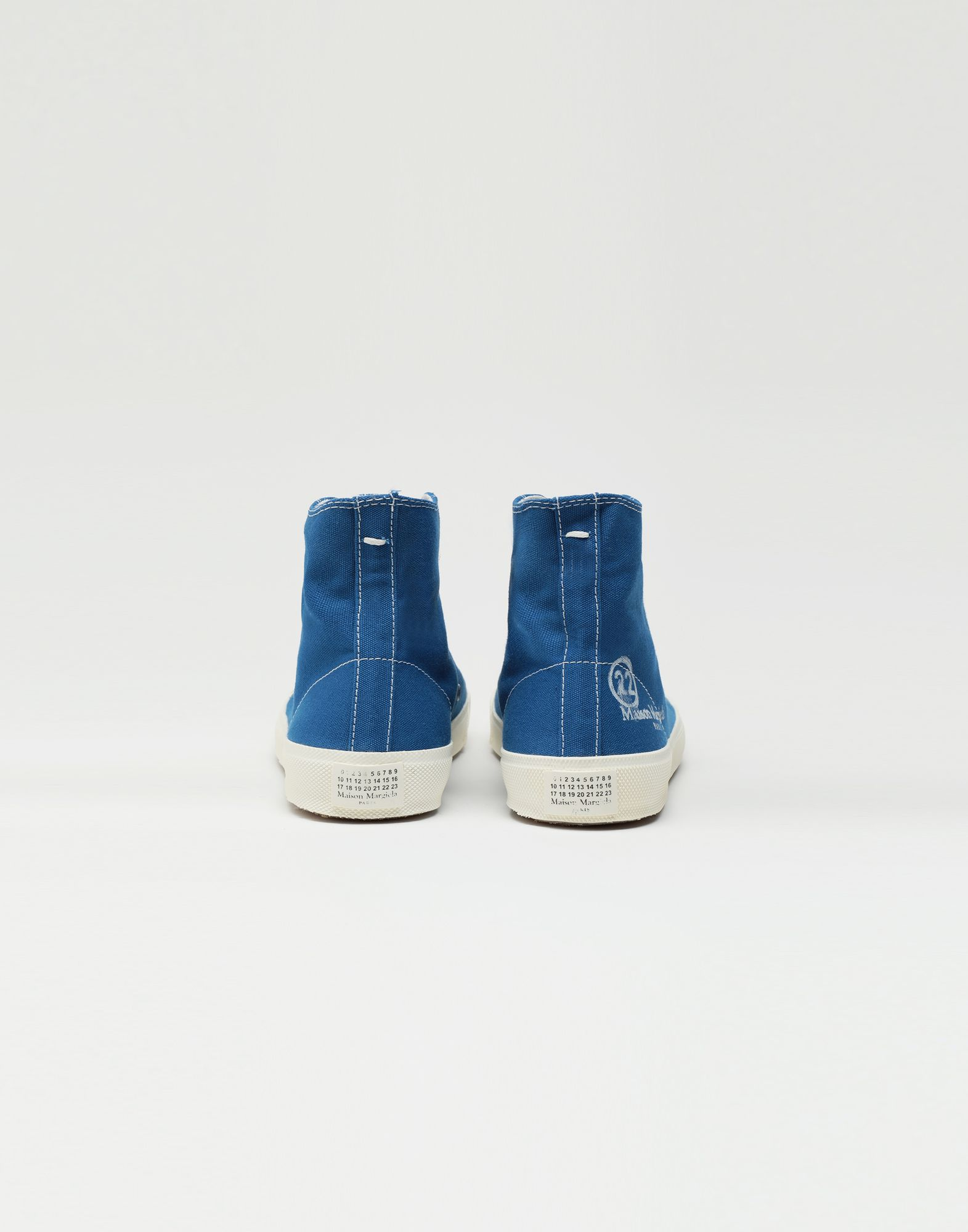 MAISON MARGIELA Tabi high top canvas sneakers Sneakers Tabi Woman d