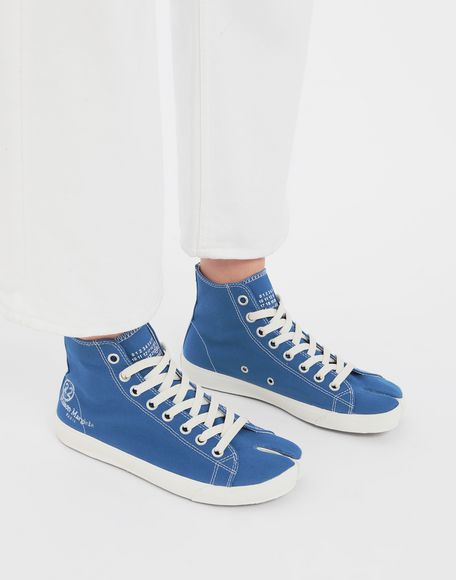MAISON MARGIELA Tabi high top canvas sneakers Sneakers Tabi Woman b