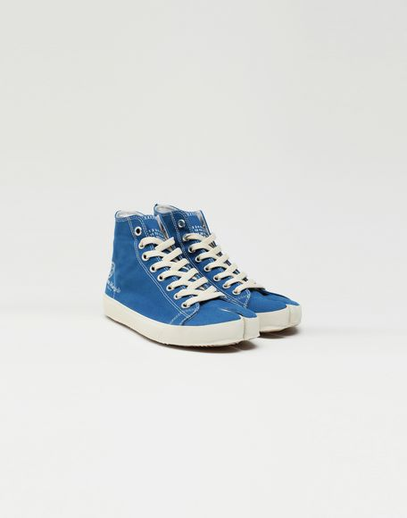 MAISON MARGIELA Tabi high top canvas sneakers Sneakers Tabi Woman r