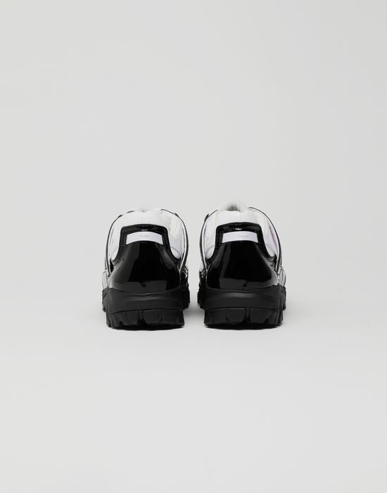 MAISON MARGIELA Security patent leather sneakers Sneakers [*** pickupInStoreShippingNotGuaranteed_info ***] d