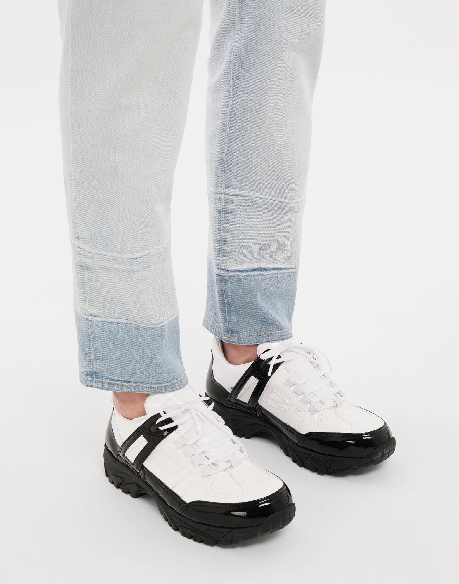 MAISON MARGIELA Sneakers Security aus Lackleder Sneakers Herren b