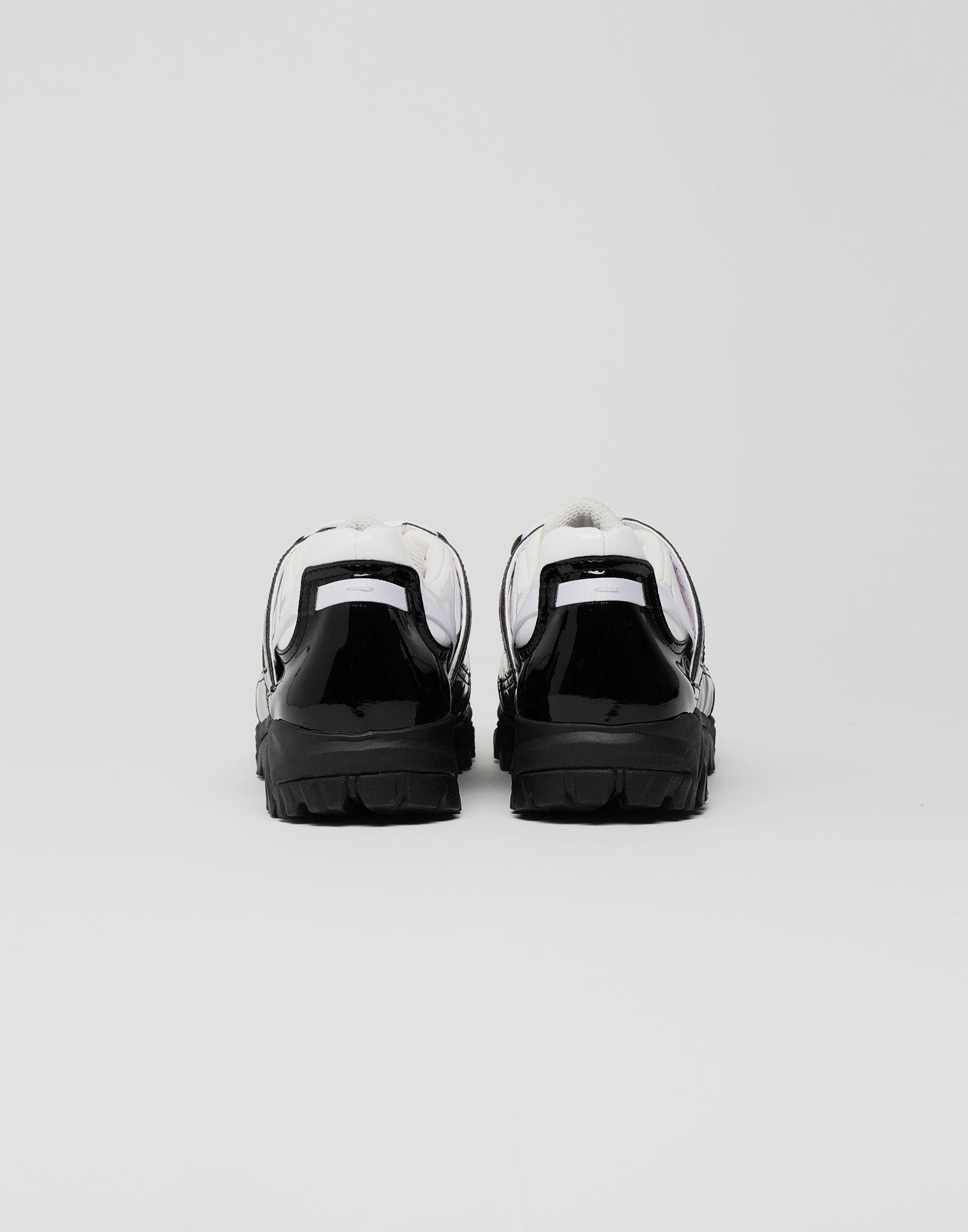 MAISON MARGIELA Sneakers Security aus Lackleder Sneakers Herren d