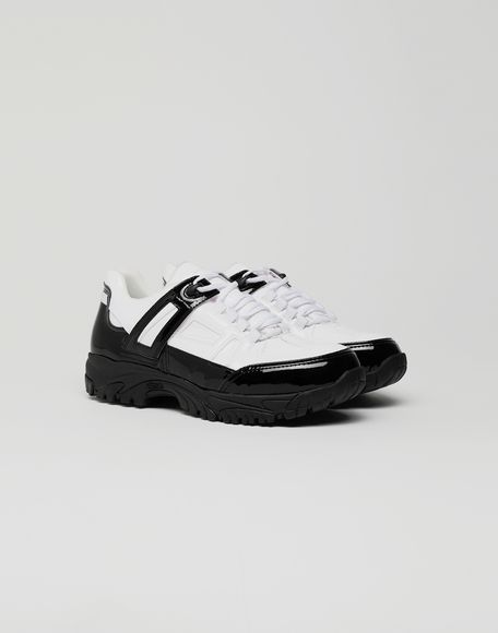MAISON MARGIELA Sneakers Security aus Lackleder Sneakers Herren r