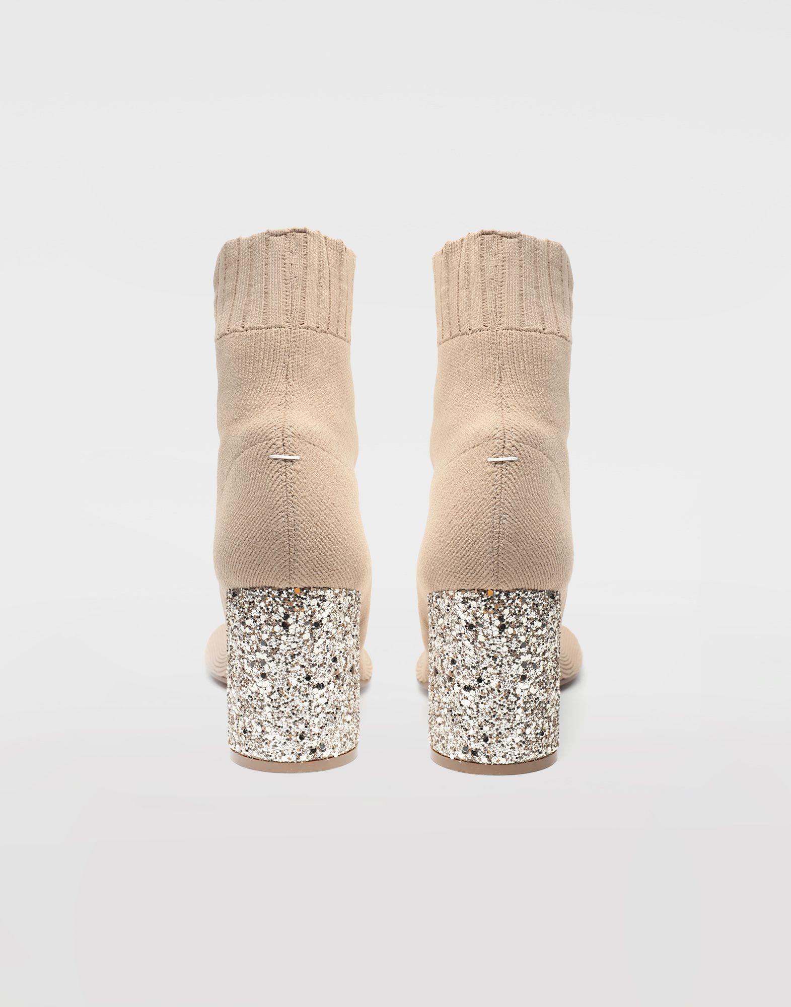 MAISON MARGIELA Tabi knit sock boots Tabi boots Woman d