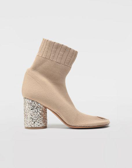MAISON MARGIELA Tabi knit sock boots Tabi boots Woman f