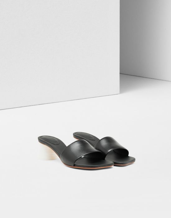 MM6 MAISON MARGIELA Mules à talon gobelet expresso Sandals [*** pickupInStoreShipping_info ***] r