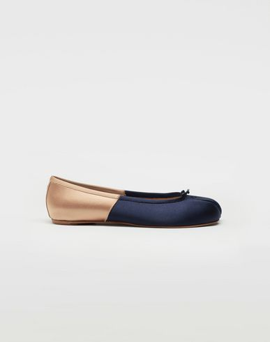 Tabi spliced ballet flats