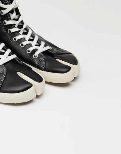SHOES Tabi high top leather sneakers