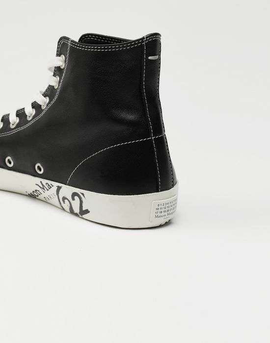 MAISON MARGIELA Tabi high top leather sneakers Sneakers [*** pickupInStoreShippingNotGuaranteed_info ***] a