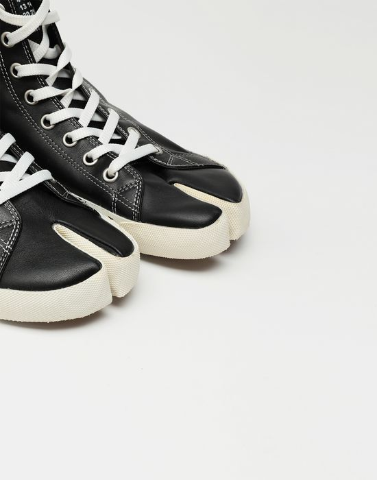 MAISON MARGIELA Tabi high top leather sneakers Sneakers [*** pickupInStoreShippingNotGuaranteed_info ***] e