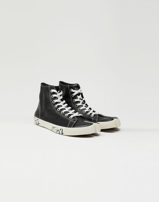 MAISON MARGIELA Tabi high top leather sneakers Sneakers [*** pickupInStoreShippingNotGuaranteed_info ***] r