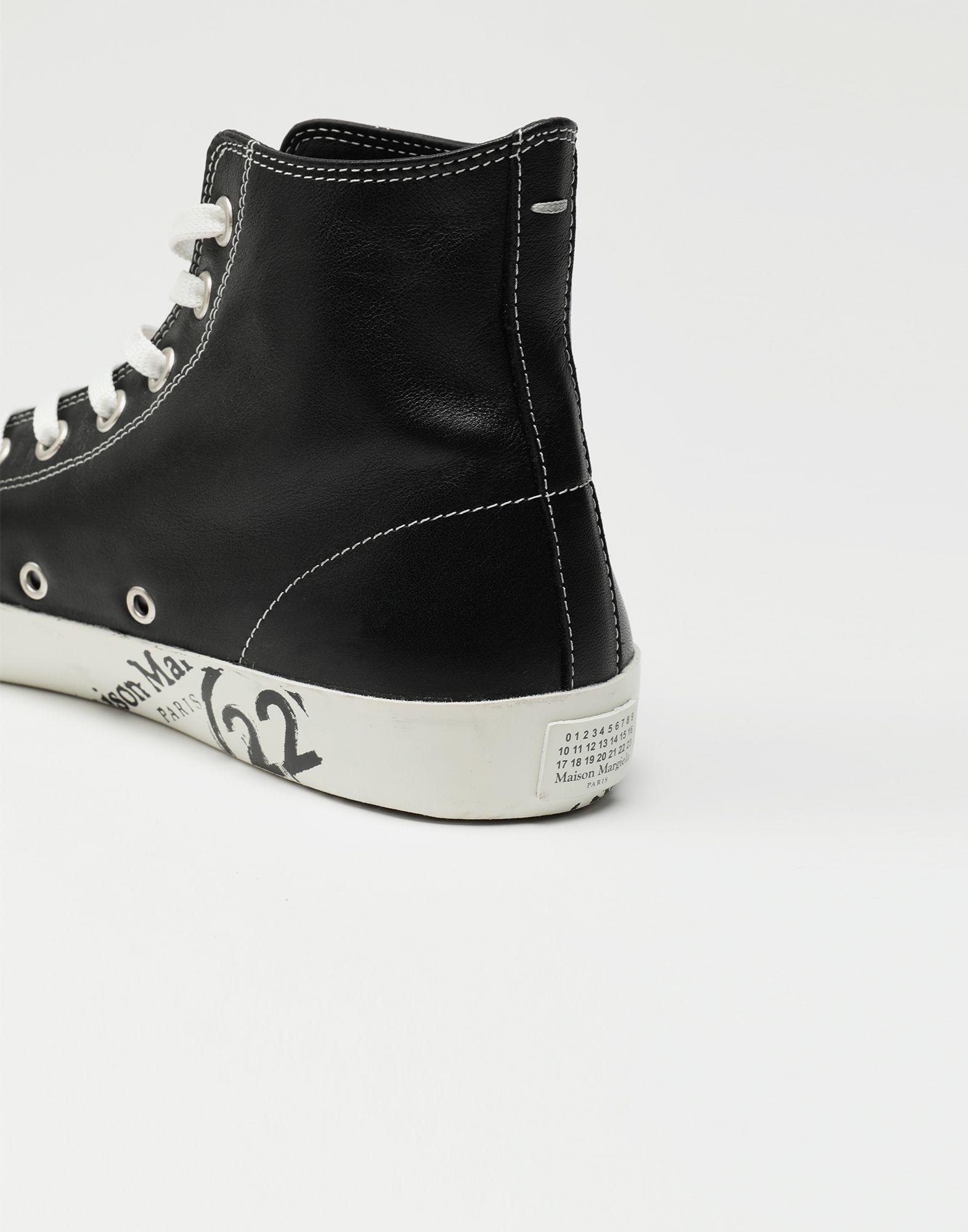MAISON MARGIELA Tabi high top leather sneakers Sneakers Tabi Man a