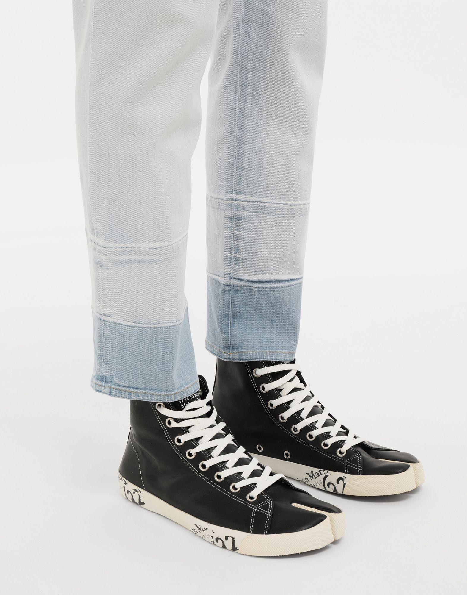 MAISON MARGIELA Tabi high top leather sneakers Sneakers Tabi Man b