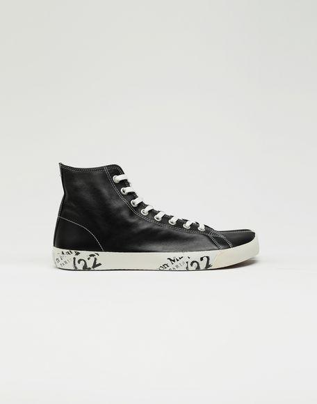 MAISON MARGIELA Tabi high top leather sneakers Sneakers Tabi Man f