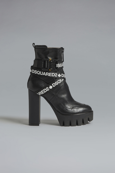 DSQUARED2 Lace-Up Ankle Boot Woman ABW007035501680M1611 b