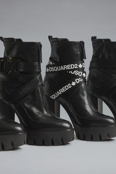 DSQUARED2 Laced Up Ankle Boots Damen ABW007035501680M1611 m